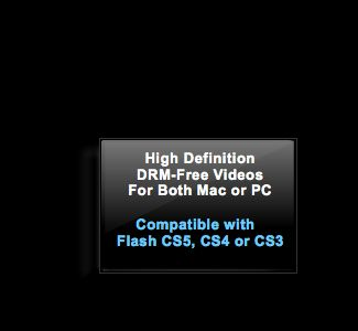 Course Compatibility: Flash CS3, Flash CS4, Flash CS5